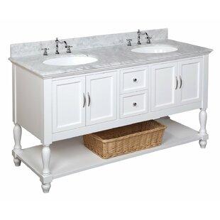 Beverly 60 Double Bathroom Vanity Set