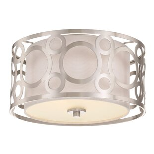 Sergent 2-Light Flush Mount
