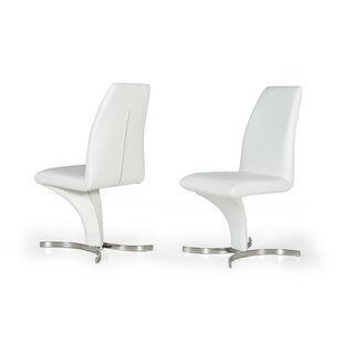 Orren Ellis Clower Upholstered Dining Chair (Set of 2)