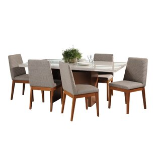 Tauber 7 Piece Dining Set Union Rustic
