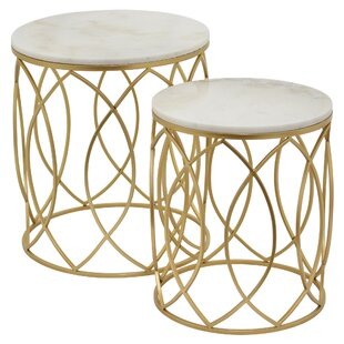 Tadeo 2 Piece Nesting Tables (Set of 2)