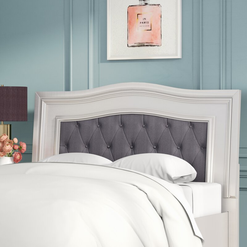 Willa Arlo Interiors Guillaume Panel Configurable Solid Wood Bedroom ...