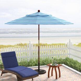 Mraz 9' Market Sunbrella Umbrella by Beachcrest Home