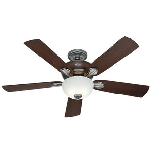 Price comparison 52 Humberto 5 Blade Ceiling Fan By Alcott Hill