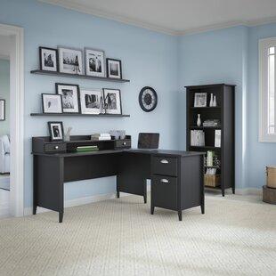 Connecticut 3 Piece L-Shape Desk Office Suite by Kathy Ireland Office by Bush