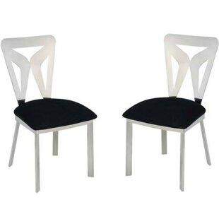 Leisha Metal Dining Chair (Set of 2) by Everly Quinn