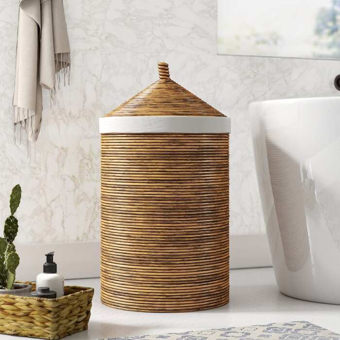 Rattan Laundry Hamper With Liner