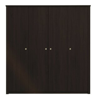 Brampt 4 Door Wardrobe By Mercury Row