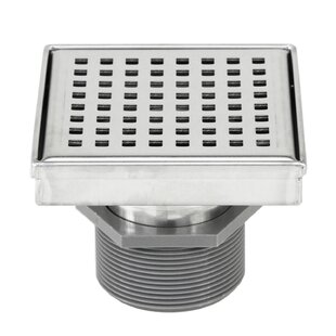eModern Decor Linear Grid Shower Drain