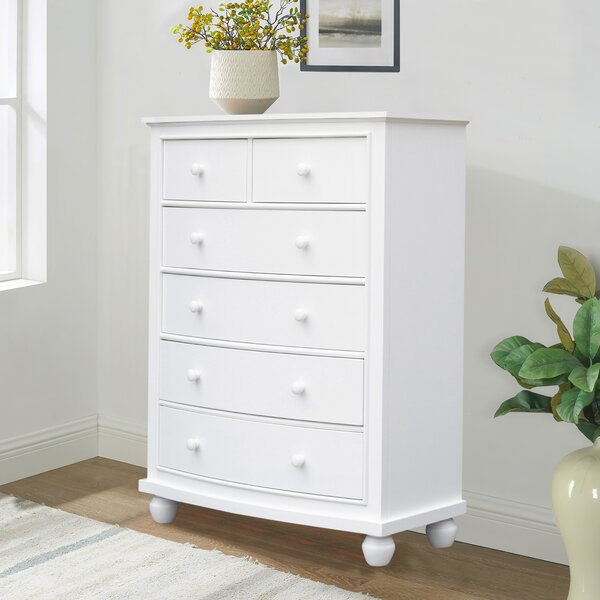 Rosecliff Heights Toni 6 Drawer Chest Wayfair