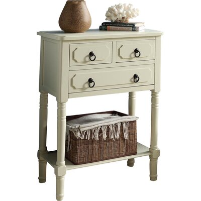 Carleton 3 Drawer Chest Color: Buttermilk by Andover Mills