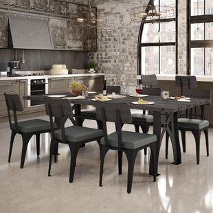 17 Stories Everly 7 Piece Dining Set