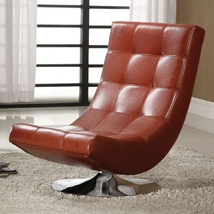 Orren Ellis Miles Swivel Chesterfield Chair