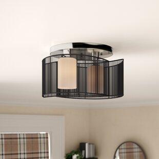 2 Light Flush Ceiling