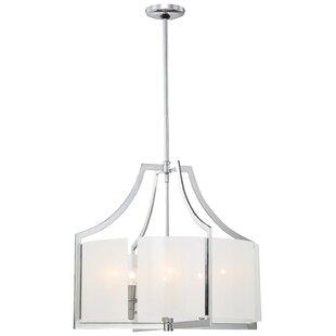 Janik Modern 6-Light Lantern Pendant by Latitude Run