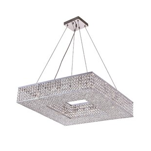 Online Reviews Dannie 12-Light Chandelier By CWI Lighting
