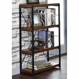 Obyrne 43 H x 24 W Metal Standard Bookcase by 17 Stories
