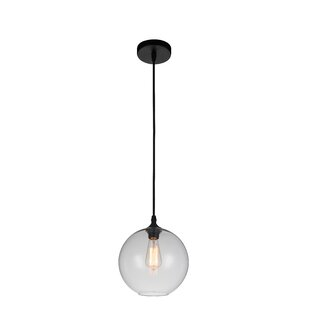 Glass 1-Light Pendant by C..