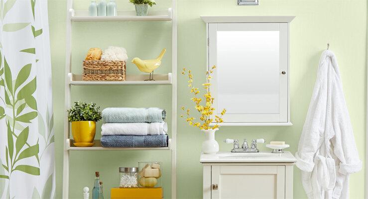 Gewusst wie: 10 große Tipps für ein kleines Bad | Wayfair.de