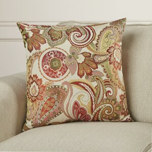 gladden square throw pillow