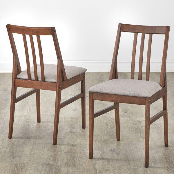 Corrigan Studio Orrie Slat Back Side Chair In Taupe Wayfair