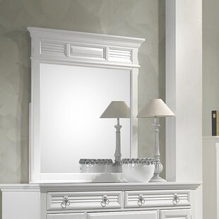Stallworth 6 Drawer Combo Dresser with Mirror