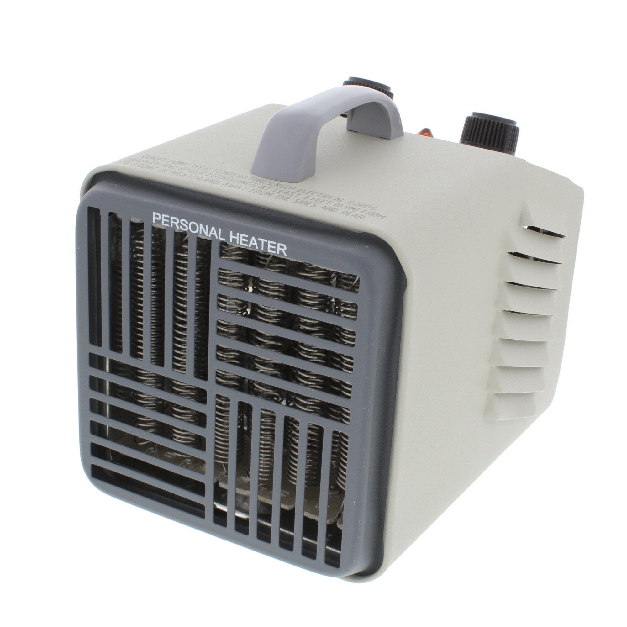 Comfort Zone Personal 1 500 Watt Electric Fan Utility Heater Reviews Wayfair