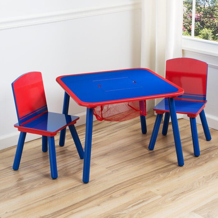 Terrific Deaton Childrens Table And Chair Set With Storage Pdpeps Interior Chair Design Pdpepsorg