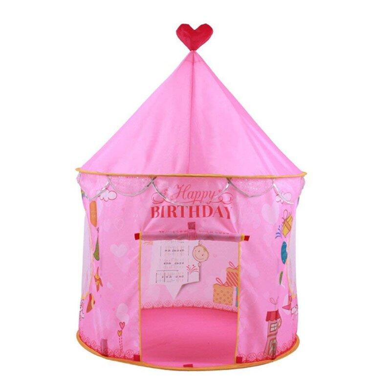 Princess Castle Pop-Up Play Tent with Carrying Bag  sc 1 st  Wayfair & Myfuncorp Princess Castle Pop-Up Play Tent with Carrying Bag | Wayfair