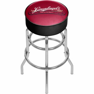 Leinenkugel 31 Swivel Bar Stool by Trademark Global