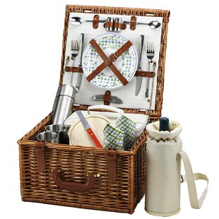Cheshire Basket for Two with Coffee Service in Gazebo