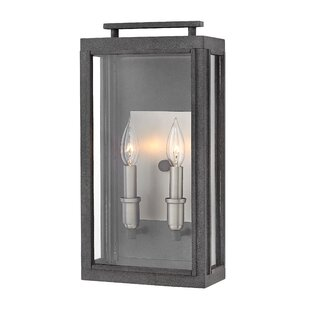Didymus Modern 2-Light Outdoor Wall Lantern