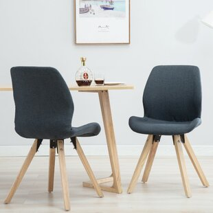 Goshorn Modern Upholstered Dining Chair (Set of 2) by Wrought Studio