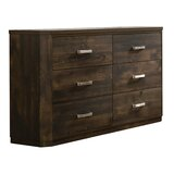 Hennessey 6 Drawer Double Dresser by Gracie Oaks