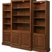 Kamran Display 3 Piece Bookcase Set A&E Wood Designs