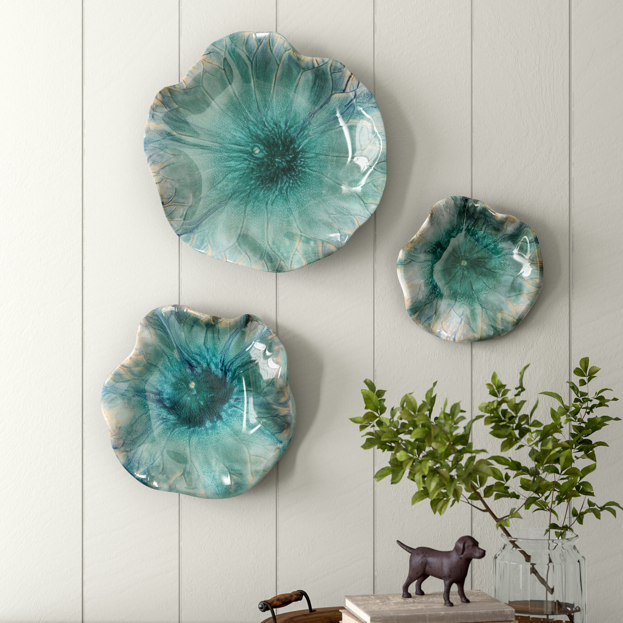 Ceramic Wall Accents You Ll Love In 2021 Wayfair