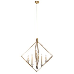 Shawn 8-Light Geometric Chandelier by Mercer41