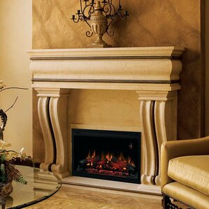Builder Box Wall Mount Electric Fireplace Insert by Classic Flame