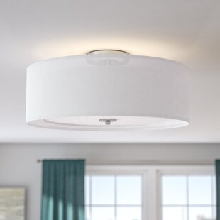 Melcher 4-Light Semi Flush Mount by Latitude Run