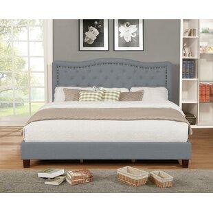 Charlton Home Charlton Home Upholstered Panel Bed