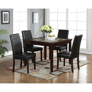 Red Barrel Studio Catherine 5 Piece Pub Table Set