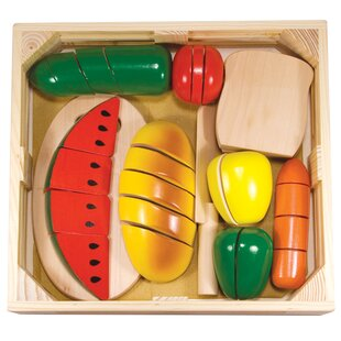 Online Reviews 31 Piece Cutting Food Box Play Set By Melissa & Doug