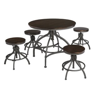 Yvette 5 Piece Counter Height Dining Set Trent Austin Design