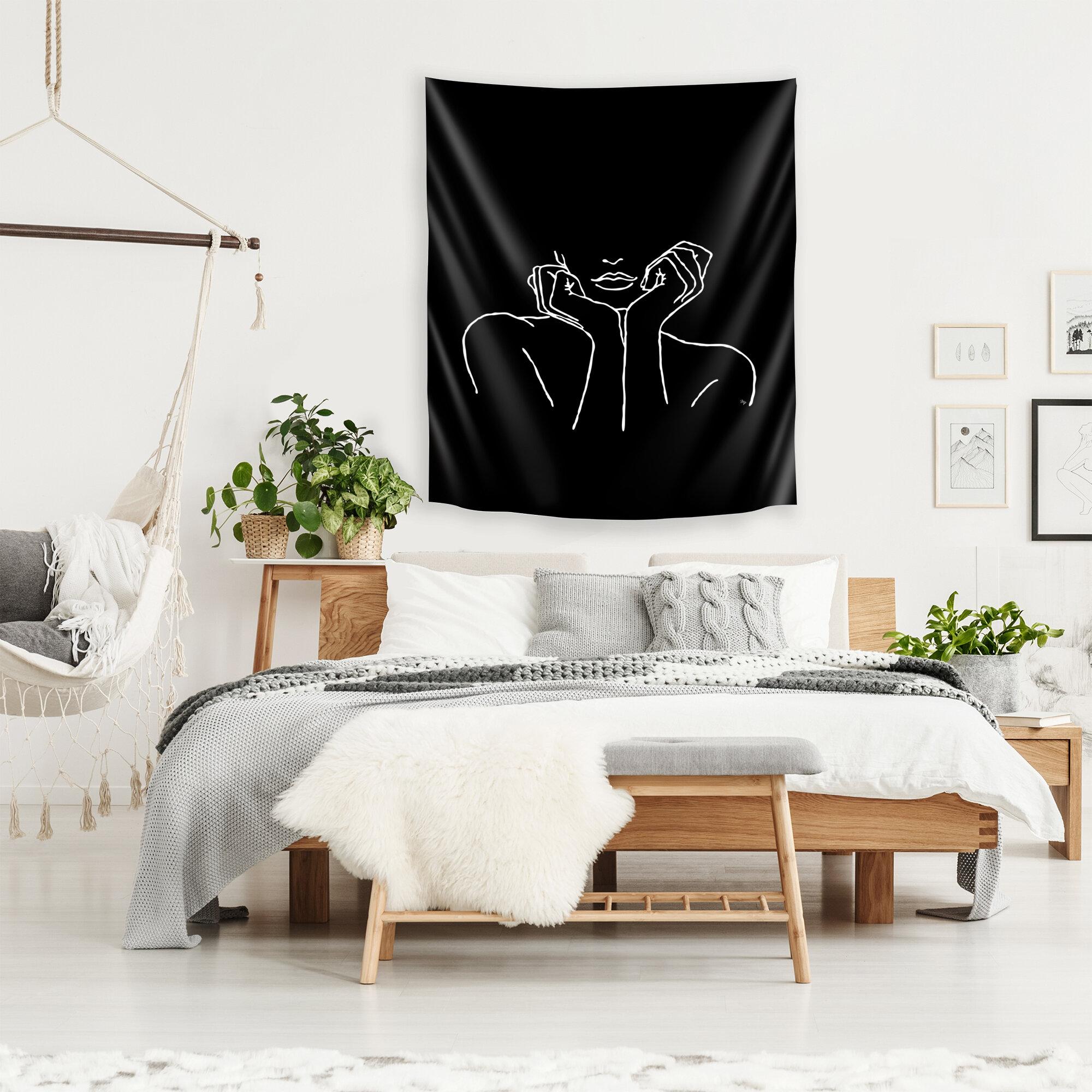 East Urban Home Microfiber Martina Tapestry Reviews Wayfair
