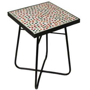 Color Mosaic End Table by Urban Designs