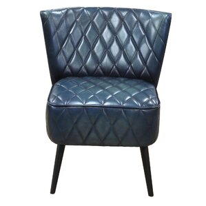 Ingrid Genuine Leather Upholstered Dining..