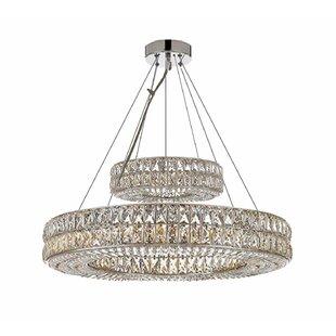 Estrella Ring 22-Light Crystal Chandelier..