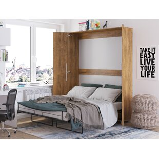 Bree Cabinet Murphy Bed with Mattress
