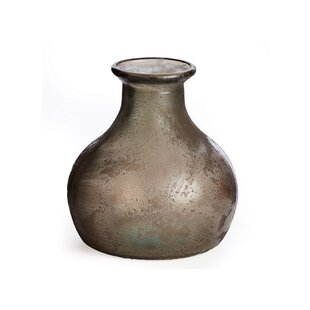 Asif Gourd-shaped Recycled Glass Table Vase