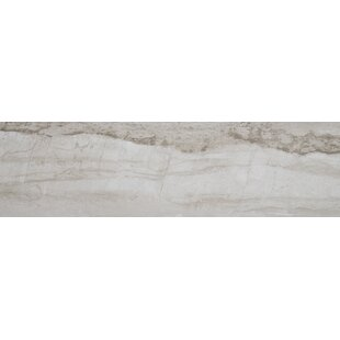 Review Mansfield Polished 8 x 36 Porcelain Field Tile in Silver Springs by Itona Tile